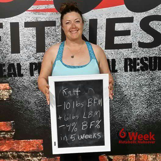 Great results from Katherine! Hard work & more importantly consistency.  Another positive, she's back pain free now!