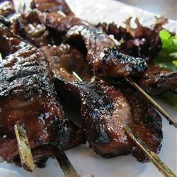 Sweet Teriyaki Beef Skewers Allrecipes.com