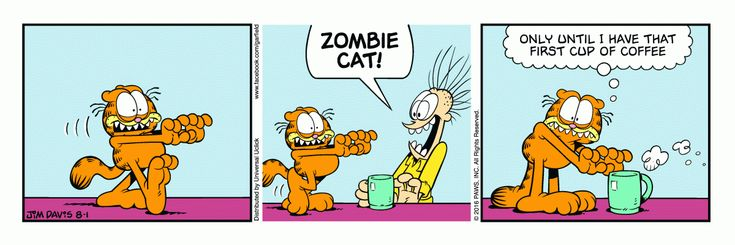 Garfield | Daily Comic Strip on August 1st, 2016