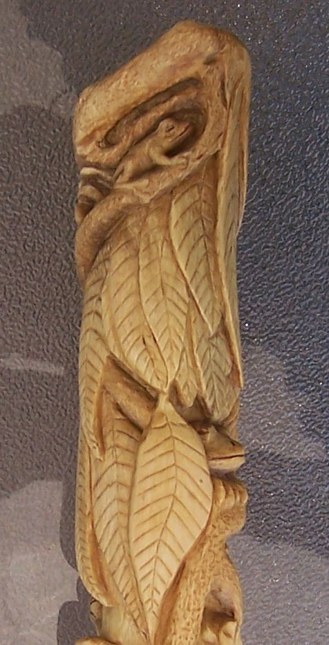 Best ideas about hand carved walking sticks on