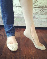 Keysocks: for wearing heels & flats in the cold winter months-These are awesome!