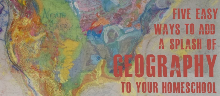 Click to read five tips on getting your kids into geography!