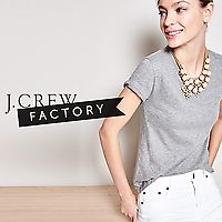 J.Crew Factory | 50% Off Everything