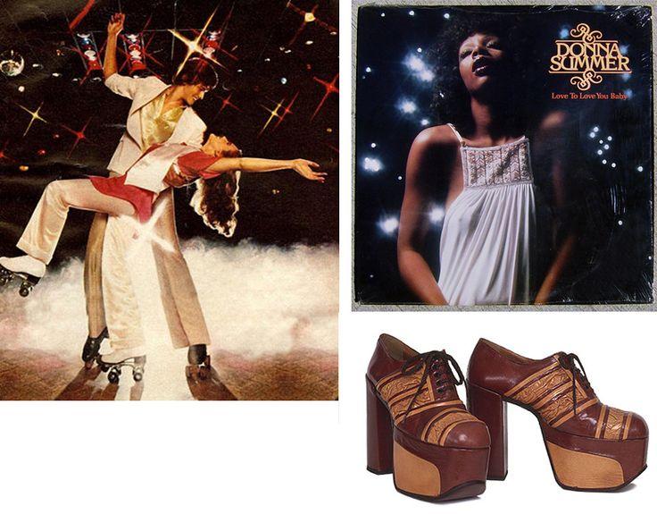 de hippies droegen in de jaren 70 ook hoge hak schoenen, zowel vrouwen als mannen.    stef,richie,vincent,larissa