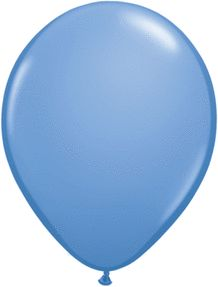 11 Inch Periwinkle Blue Latex Balloons (25ct)