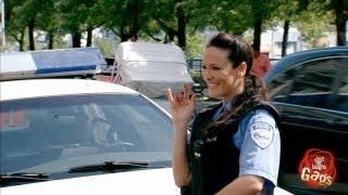 Angry Girlfriends Slash Police Car Tire #Prank - #funny