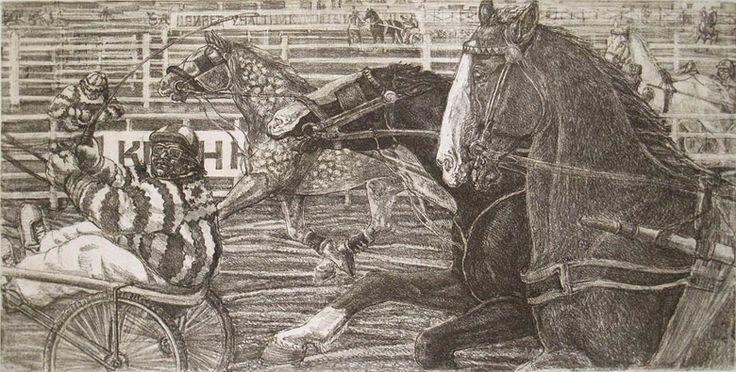 Людмила Томашевская - люди и кони. Бега.