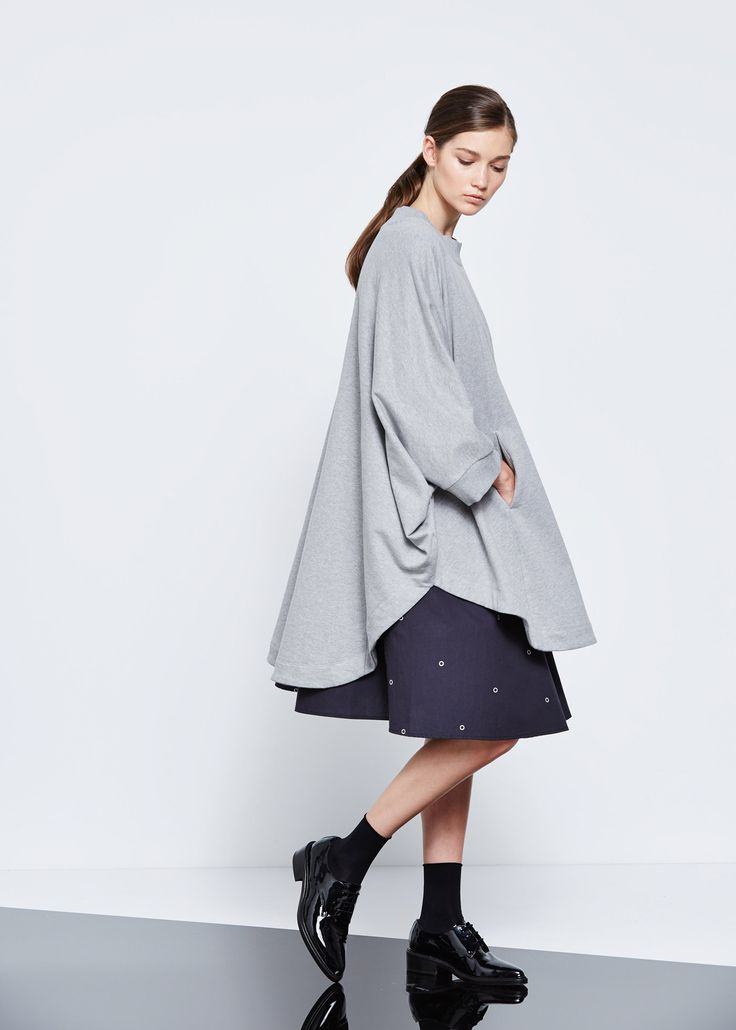 Pay Attention Cape by Kowtow. Ethical organic cotton.