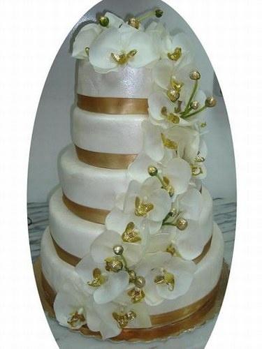 gateau antillais plus gateau antillais gâteau de mariage déco bleue ...