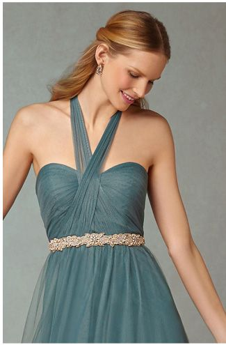 Convertible bridesmaid dresses by BHLDN. 19 colors, 36+ ways to wear.