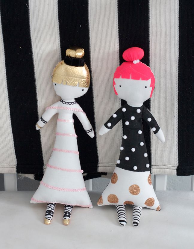 The Doll Face Sewing Pattern