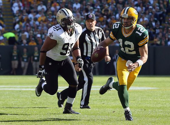 R.I.P. Will Smith Saints pro bowler chasing down Rodgers