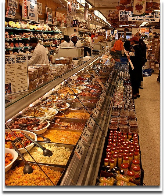 Zabar's gourmet shop in NYC - they also have a website and can ship many of their items