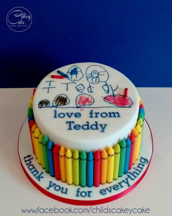 Thank you - Cake by CakeyCake