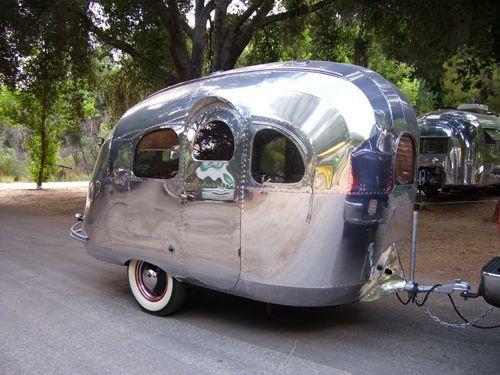 tiny airstream vintage campers trailer more