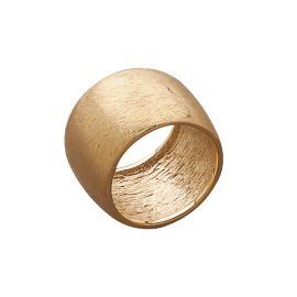 anillo de baño de oro, efecto rayado, le da un aspecto envejecido y suave #Cristianlay