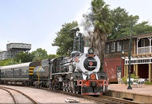 Take a luxurious trip on the prestigous Rovos Rail Train. Steam through some of the best scenery in South & East Africa.