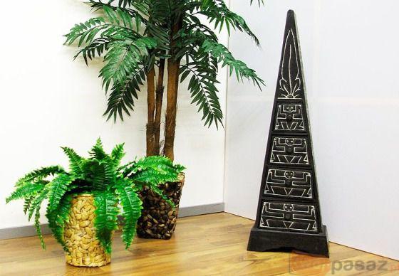 Komoda - Szafka w kształcie piramidy - Piramida z szufladami - 100 cm
