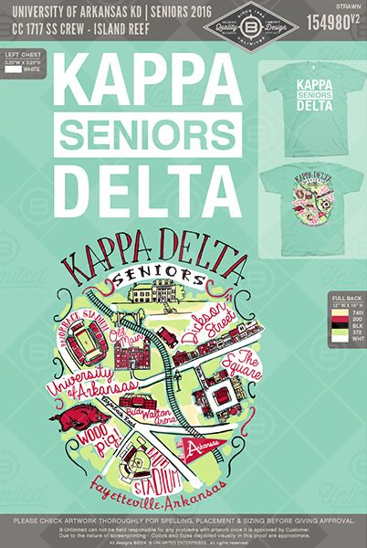 But with Kappa Delta Seniors on a frocket                              …