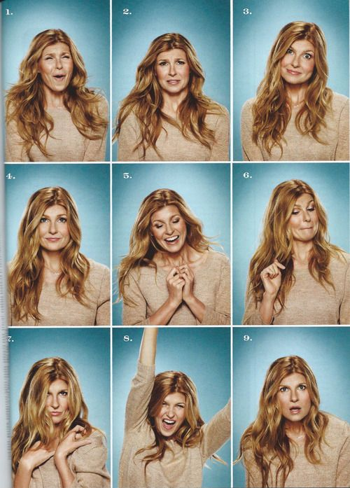Connie Britton! I envy her hair!!!