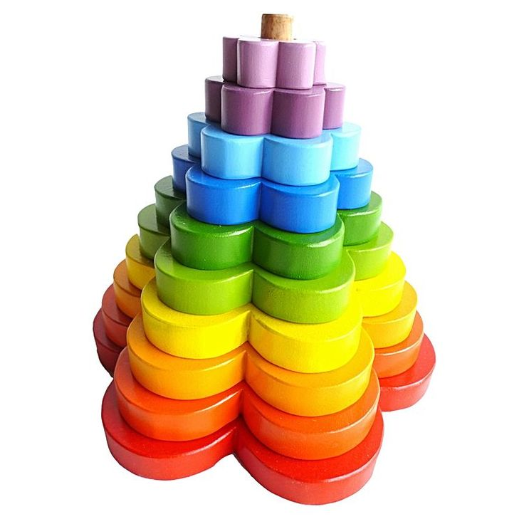 Stacking Flower Toy
