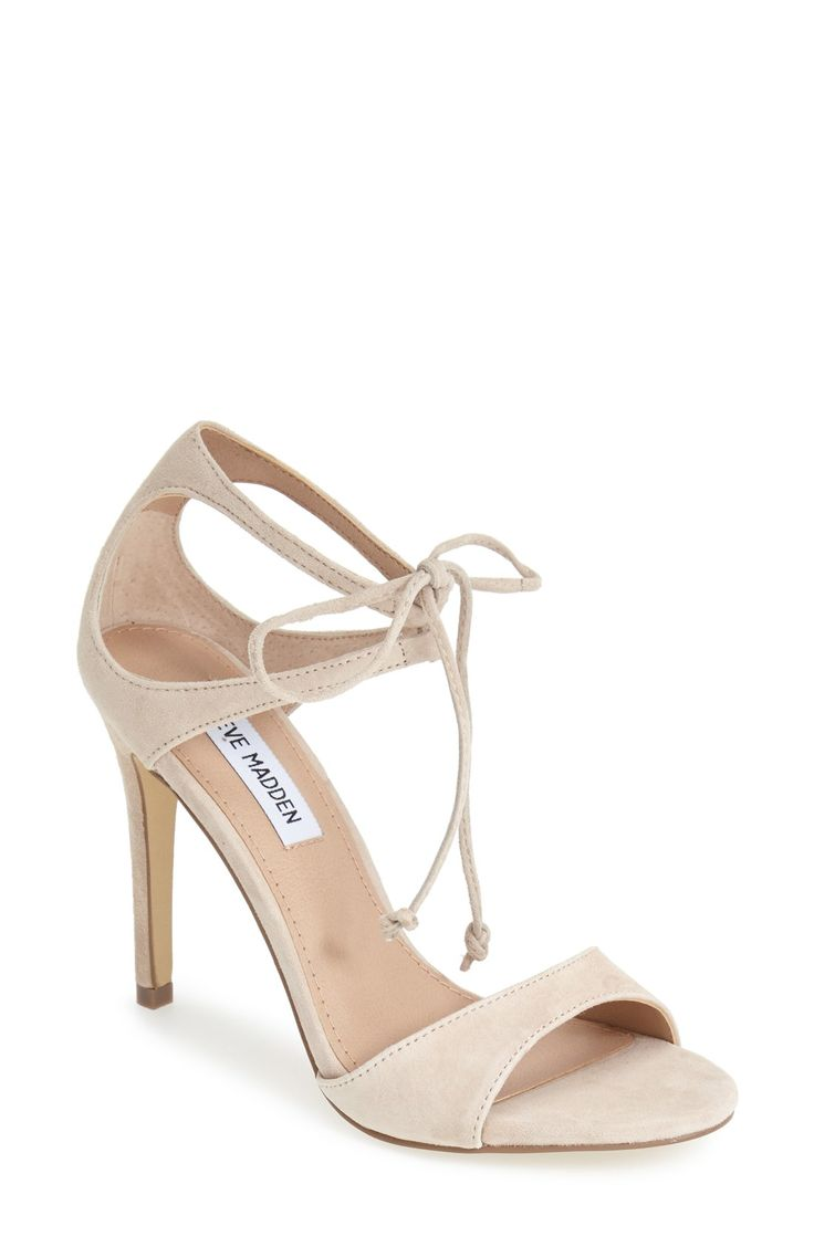 These blush suede beauties will transition from day to evening ensembles in a snap.