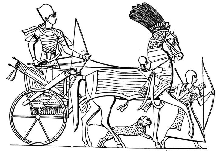 Free Coloring Page Coloring Egypt Char Coloring For Adult