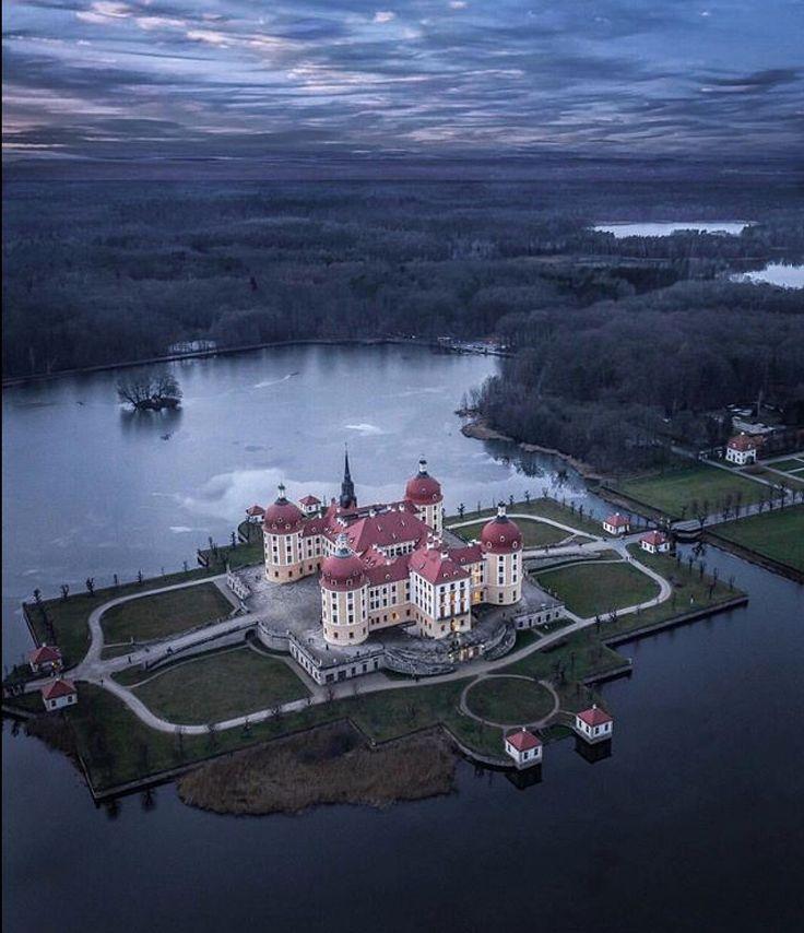 Castle Moritzburg.
