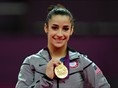 Aly Raisman's Olympic medals  Recent disappointment fades into Olympic background ; Three-time Olympic medalist Aly Raisman talks to Bob Costas about her gold medal performance in the floor exercise and earning a bronze in the balance beam.