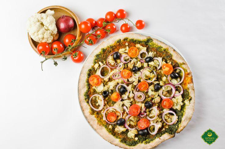 Conopidă pentru imunitate, pizza vegană cu conopidă şi capere pentru sănătate.