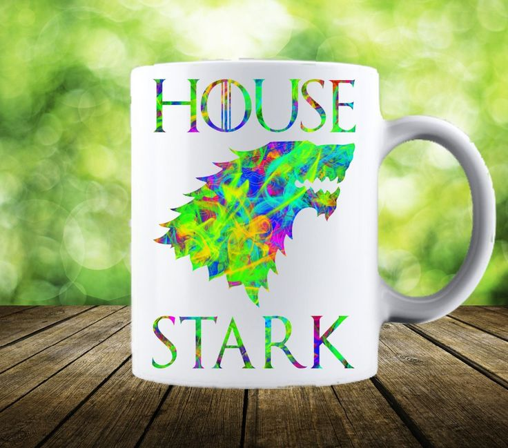 House Stark Ceramic Cups //Price: $23.56 & FREE Shipping //     #housestark #nowmywatchbegins #thenorthremembers