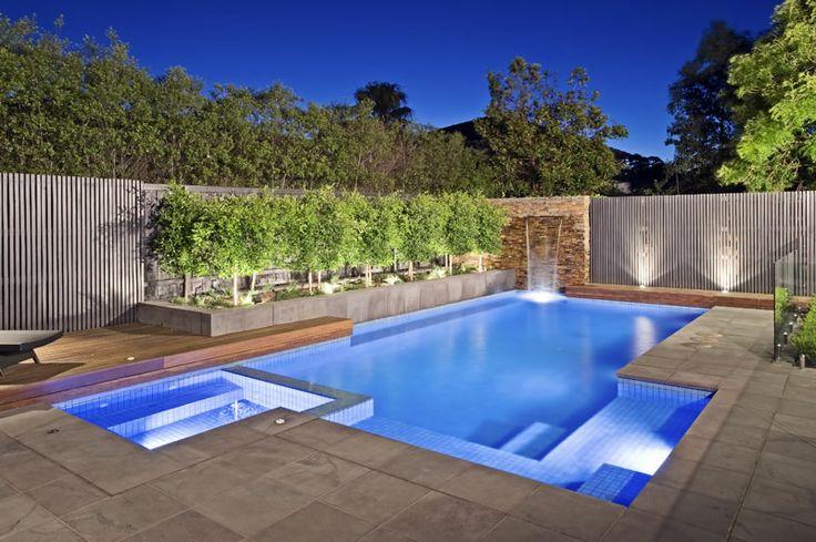 Cole St Brighton East Swimming Pool, Spa & Landscape Project : 2009 SPASA Award Winner