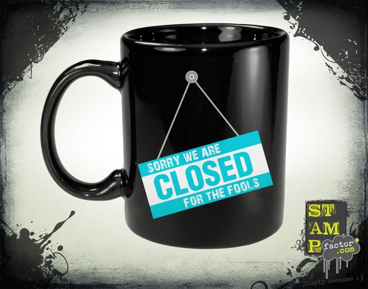We Are Closed (Version 05) 2015 Collection - © stampfactor.com *MUG PREVIEW*