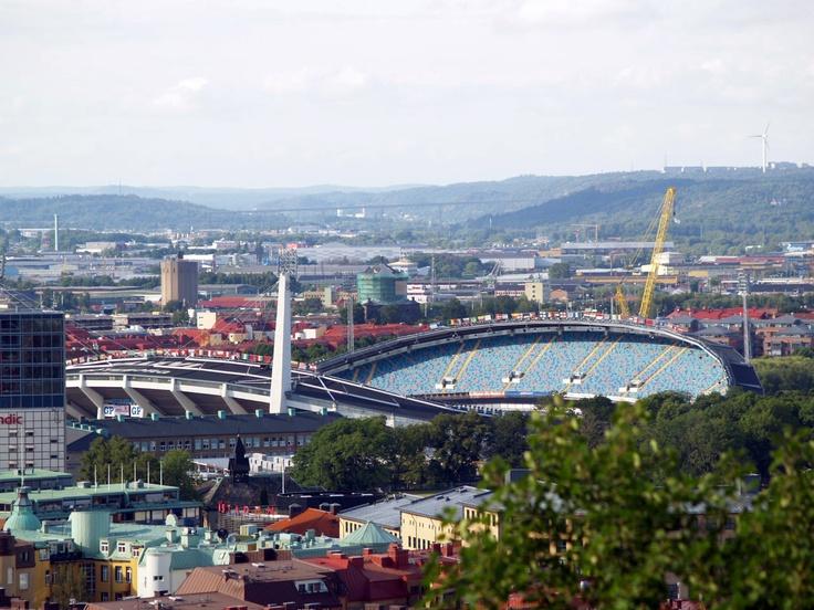 Göteborg, Ullevin stadikka ja Bruce Springsteen, Ruotsi.