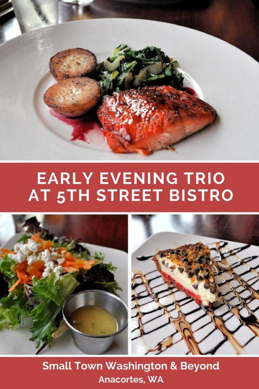 I'm a fan of early bird dinners as they are an excellent way to eat well and save money while traveling. 5th Street Bistro at the Majestic Inn & Spa has a three-course meal for $25, is available from 4 p.m. to 6 p.m.