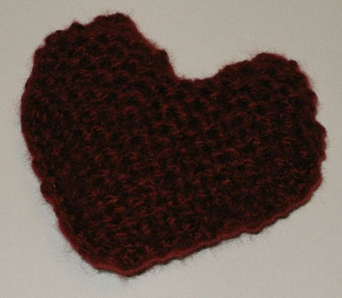 Knit Heart - Knit a Heart for Valentine's Day
