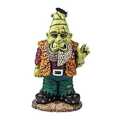 Halloween Frankenstein Frankengnome Lawn Garden Gnome Decor Ornament