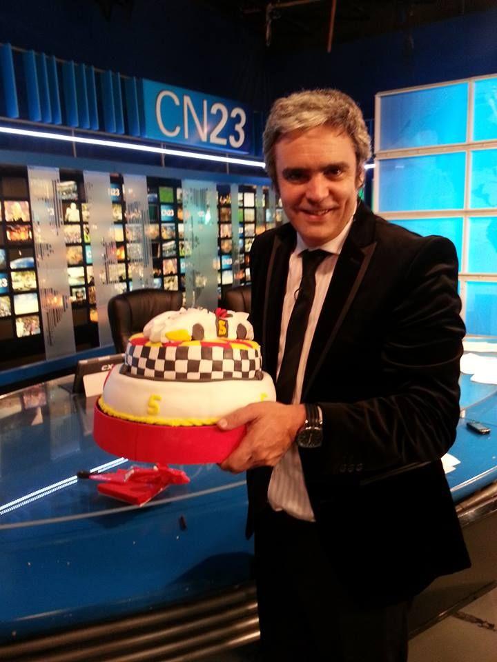 Torta de Meteoro para Camilo Garcia CN23!!