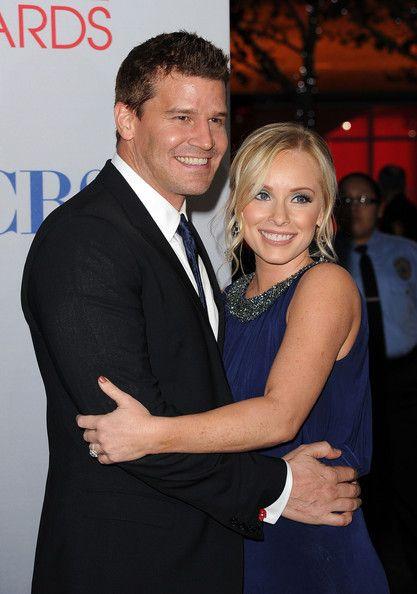 David Boreanaz & Jaime Bergman Photos - 2012 People's Choice Awards - Arrivals - Zimbio