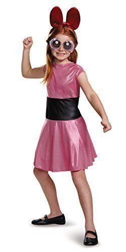 Disguise Blossom Classic Powerpuff Girls Cartoon Network Costume, Small/4-6X