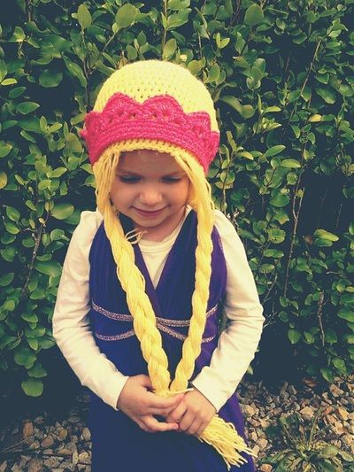 Princess Crochet Hat with Tiara Gallery - Thing-a-ma-bobs