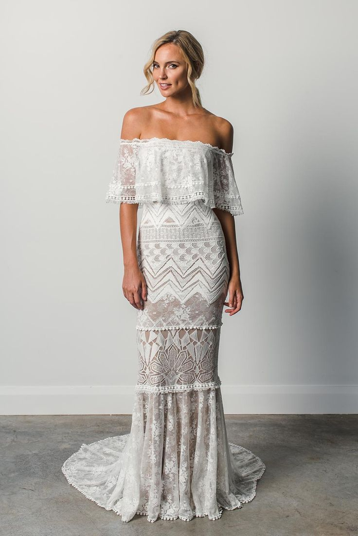 Because every girl deserves to have her dream wedding dress, we got you a collection of lace wedding dresses that will definitely blow your mind. These dresses are handmade by Grace Loves Lace. They specialize in
