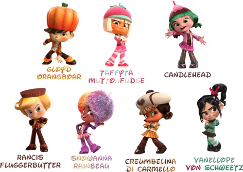 Some Wreck It Ralph characters