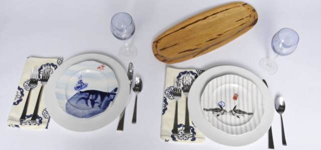 The nautical plates from Anthropologie are playful and gender neutral, and definitely a conversation starter.