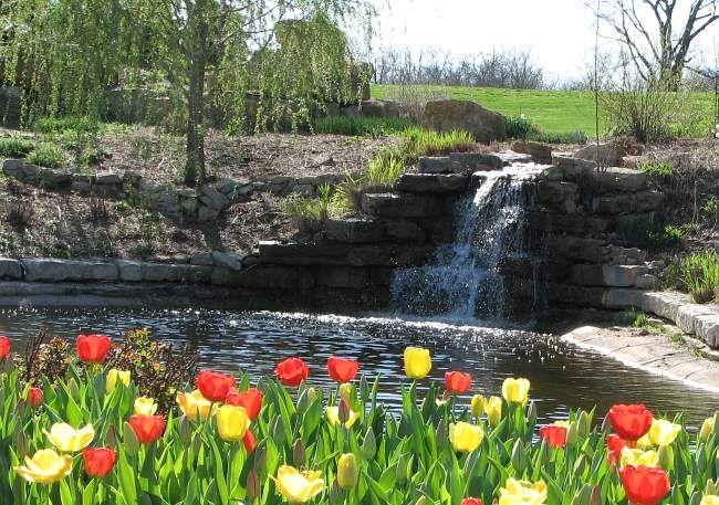The arboretum in Overland Park Kansas is the region's best kept secret.
