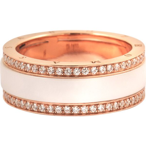 This Rose Gold Ring Was Designed By The Designer Brand