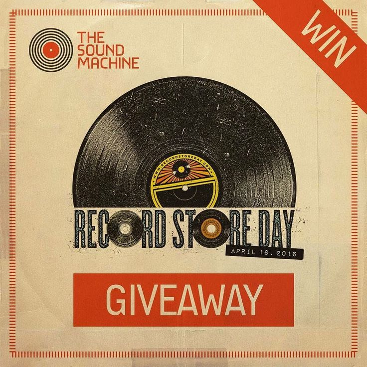 For Record Store Day 2016 we'll be giving away 30 worth of The Sound Machine vouchers an exclusive T-shirt and a tote bag & badges!!! To enter the competition Like our Facebook page and Share the post. The competition ends on Friday 15th April at midday and well announce the winner in the evening.  Good luck Sound Machinists!!! #fortheloveofvinyl #win #promo by thesoundmachine