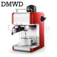 US $60.72 DMWD Electric Espresso coffee maker semi-automatic Italian coffee machine high pressure steam 5bar Cappuccino Froth milk foam EU. Aliexpress product