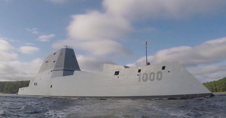 On board the USS Zumwalt, the Navy's brand new, $4 billion battleship - CBS News