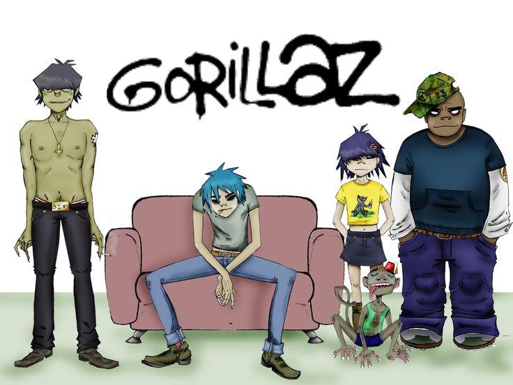 GORILLAZ Band by HELLen277 on DeviantArt